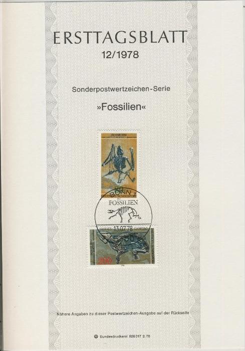 BRD - ETB (Ersttagsblatt) 12/1978 0