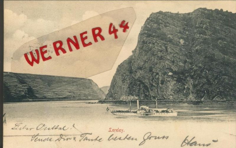 Loreley v. 1904   ()  --  siehe Foto !!  (29436) 0