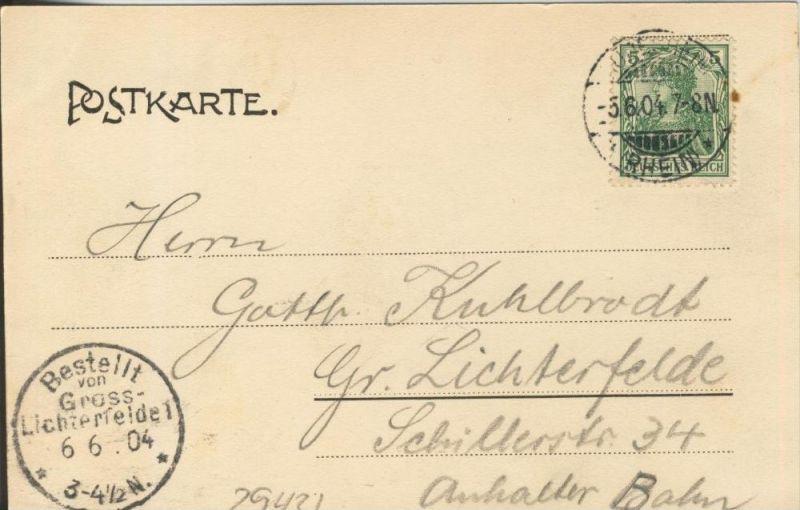 Loreley v. 1904   ()  --  siehe Foto !!  (29436) 1