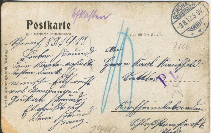 Freiburg i. Br. v. 1912  Münster und Teil-Stadt Ansicht   ()  --  siehe Foto !!  (29442) 1