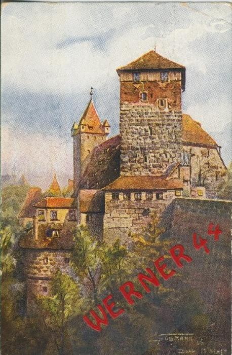 Nürnberg v. 1922  Fünfeckigerturm  ()  --  siehe Foto !!  (29444) 0