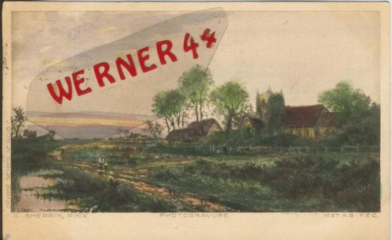 Berlin v. 1905  Bauerngehöft nähe Berlin  ()  --  siehe Foto !!  (29445) 0