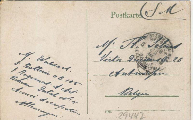 Boppard v. 1915  Total-Ansicht   ()  --  siehe Foto !!  (29447) 1