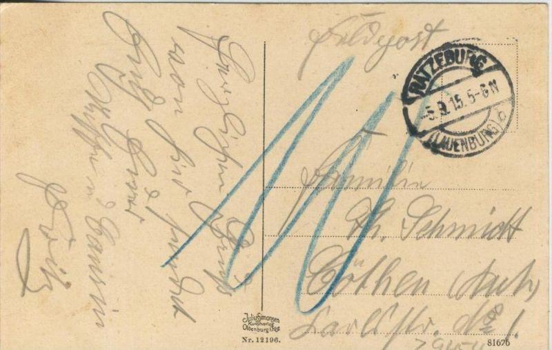 Ratzeburg v. 1915  Teil-Stadt-Ansicht   ()  --  siehe Foto !!  (29454) 1
