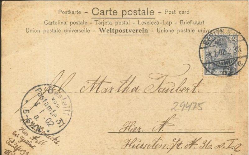 Verlorenes Glück v. 1902  ()  --  siehe Foto !!  (29475) 1