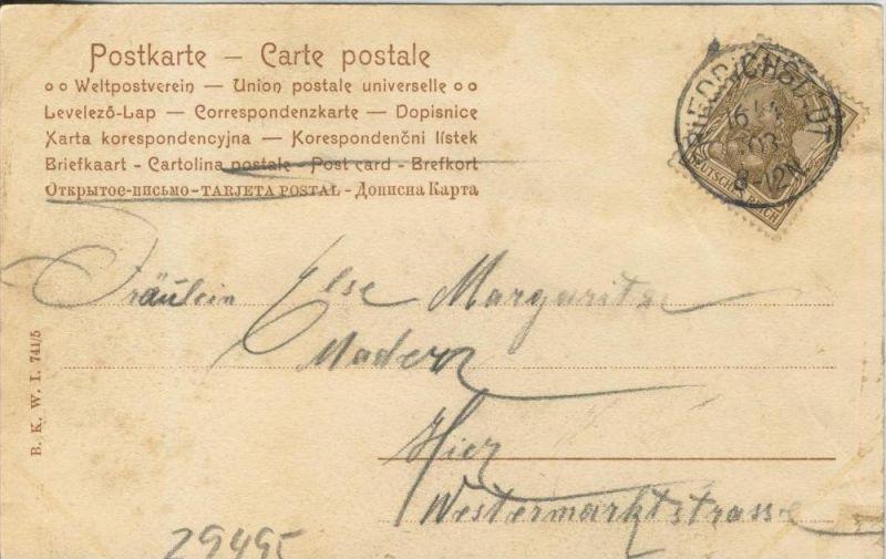 Verliebt v. 1903   ()  --  siehe Foto !!  (29495) 1