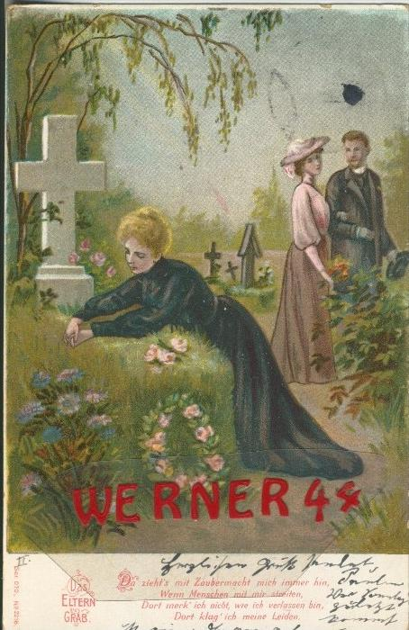 Das Eltern Grab v. 1904   ()  --  siehe Foto !!  (29498) 0