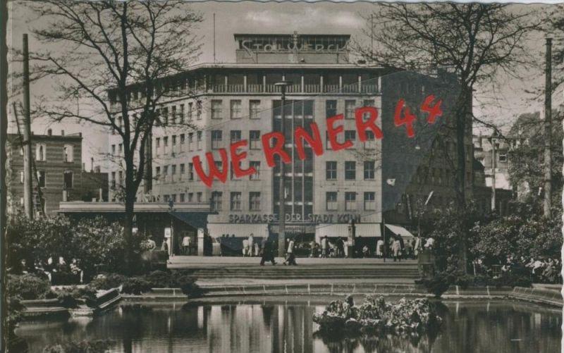 Köln v. 1963  Ecke Hansaring-Friedrich  Ebert Platz  --  siehe Foto !!  (29200) 0