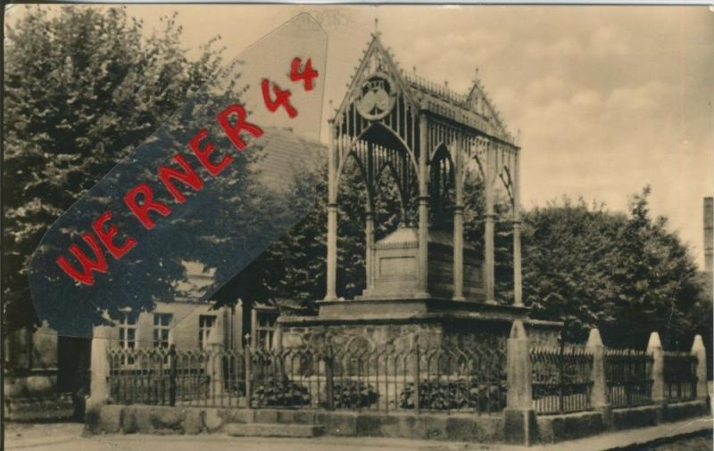 Gransee v. 1959  Luisen-Denkmal   --  siehe Foto !!  (29205) 0