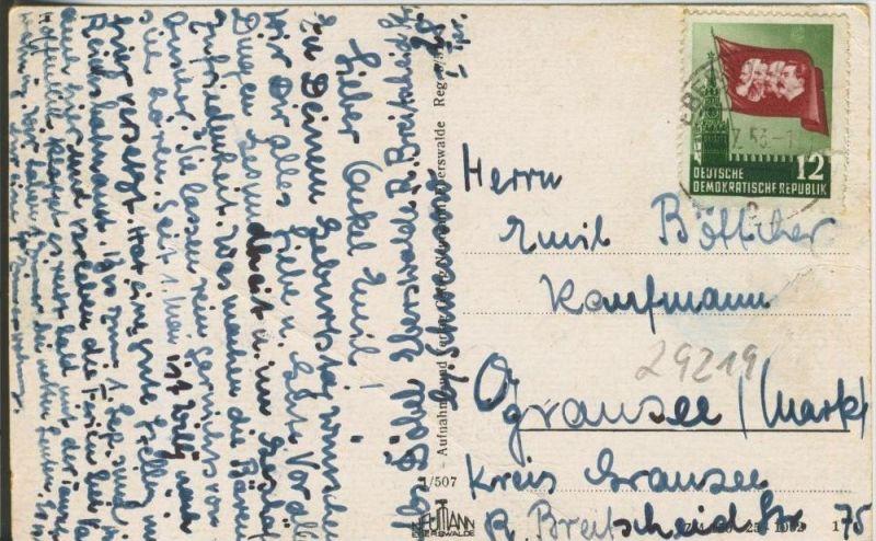 Eberswalde v. 1953  Forstliche Hochschule  --  siehe Foto !!  (29219) 1