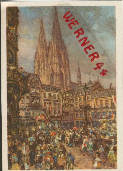 Köln v. 1939  Der Karneval  ()  --  siehe Foto !!  (29505)