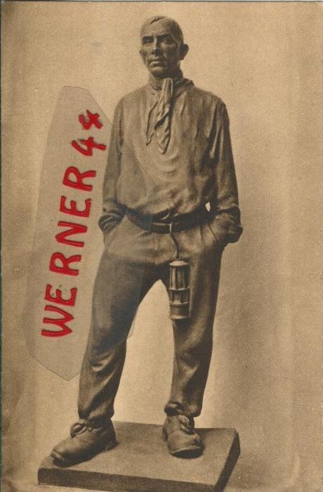 Der Bergmann von der Saarv. 1918  ()  --  siehe Foto !!  (29594)