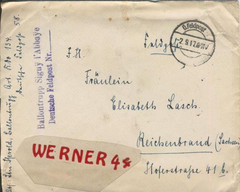 Siehe Stempel Feldpoststempel Mit Bataillons Anschrift 1
