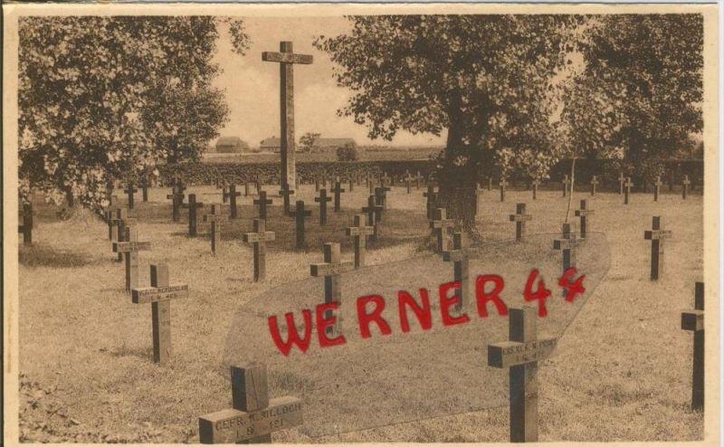 Ghelowe v. 1916 Deutscher Kriegsfriedhof -- siehe Foto !!  (29626)