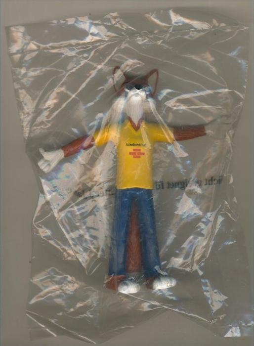 Sammelfiguer -- Fuchs von Schwäbisch Hall -- Höhe11 cm  --  siehe Foto !!  (Fuchs-3)