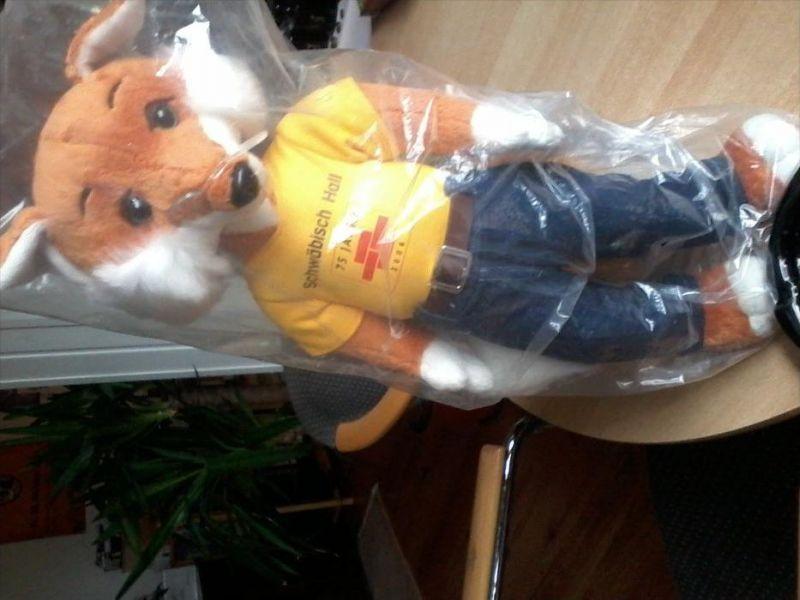 Fuchs von Schwäbisch Hall -- Höhe 45 cm  --  siehe Foto !!  (Fuchs-4)