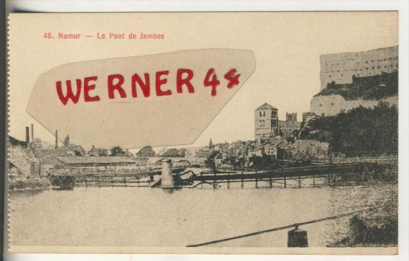 Namur v. 1914  Le Pont de Jambes   (31254)