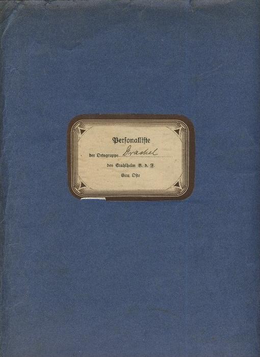Drachel ü. Bremervörde v. 1936  Ortsgruppe Drachel,des Stahlhelm B.d.F.-- Gau Oste  (31299-18)