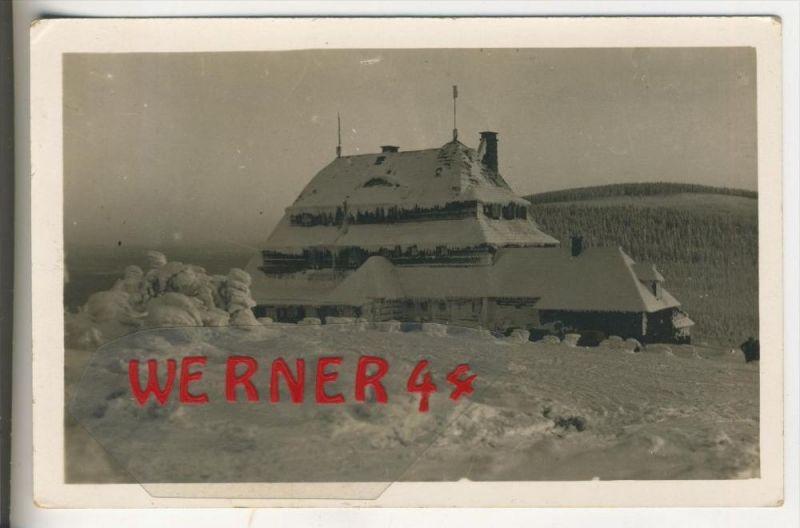 Adlergebirge v. 1936  Sudeten Baude, Inh. Hanz Goebel   (31377)
