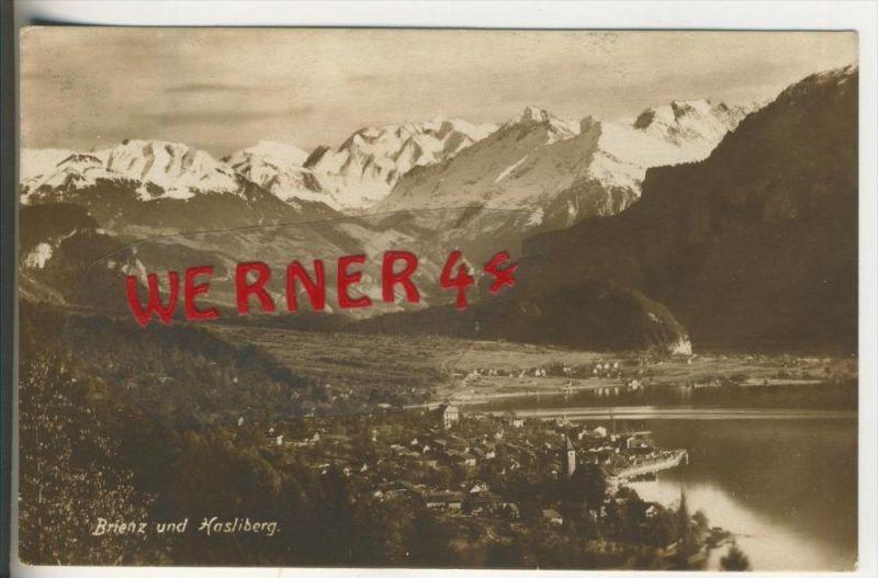 Brienz und Hasliberg v. 1925  Dorfansicht   (31446)