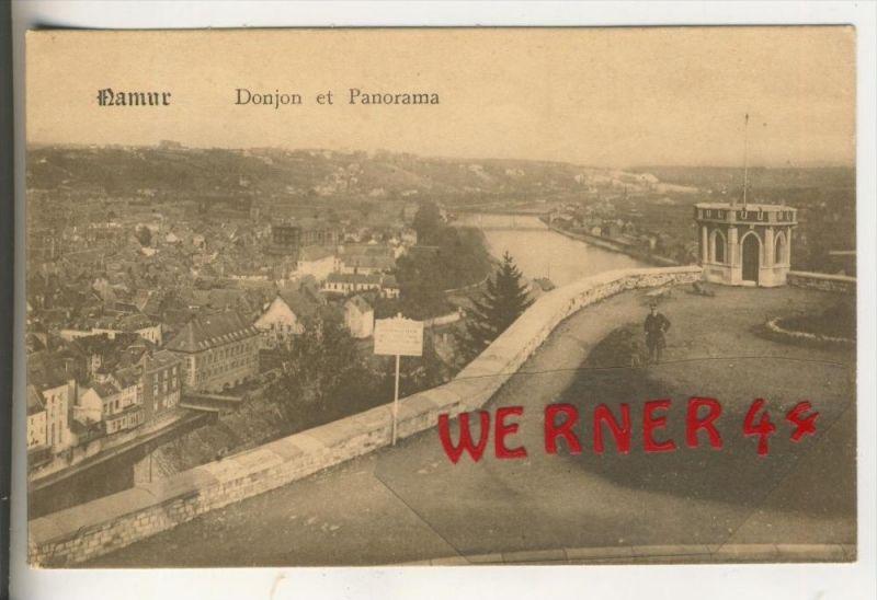 Namur v. 1918  Donjon et Panorama  (31447)