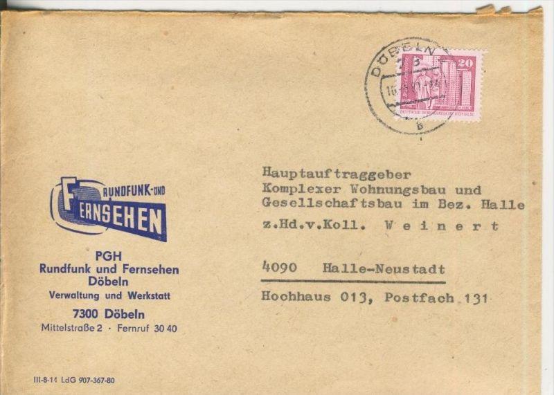 PGH Rundfunk und Fernseh Döbeln (Saale) vom 16.06.1981   (37004)