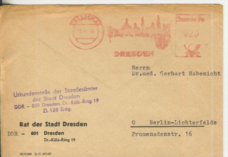 Rat der Stadt Dresden vom 23.04.1970   (37005)