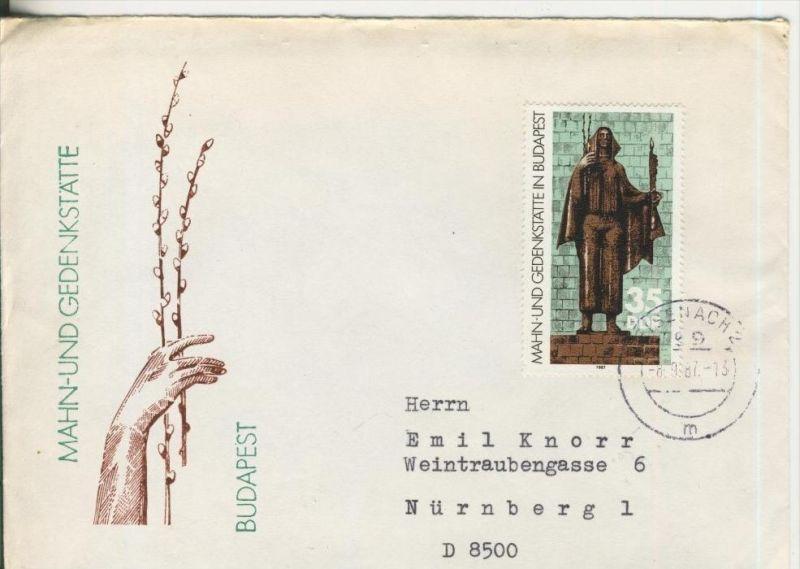 Mahn und Gedenkstätte Budapest vom 8.9.1987   (20)