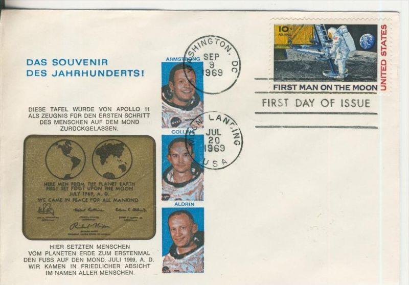 Der Mondflug vom 20 Juli 1969  (37035)
