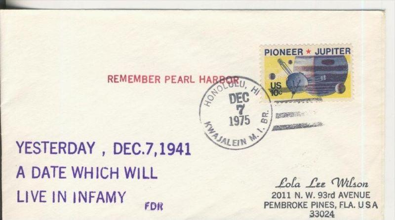 Remeber Pearl Harbor vom 7.12.1975  (37071)