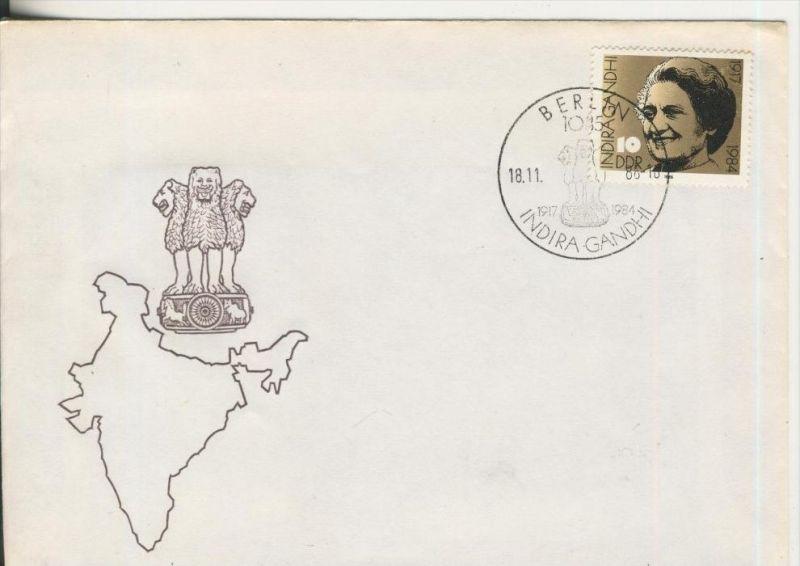 Indira Gandhi vom 18.11.86    (37255)