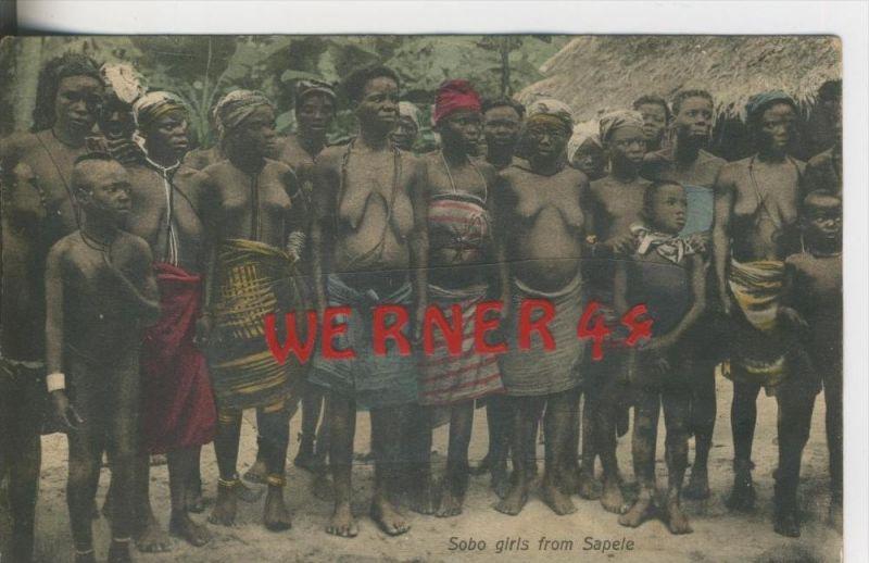 Sobo Girls frm Sapele v. 1940   (31548)