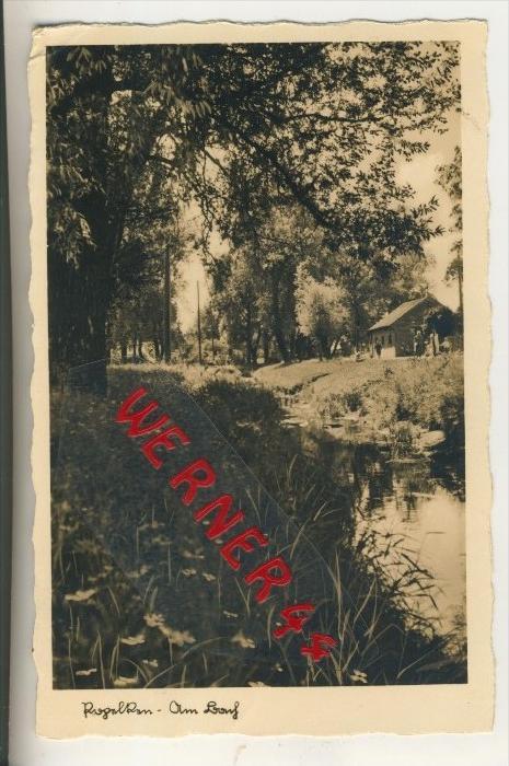 Popelken v. 1937  Am Bach mit Haus   (31567)