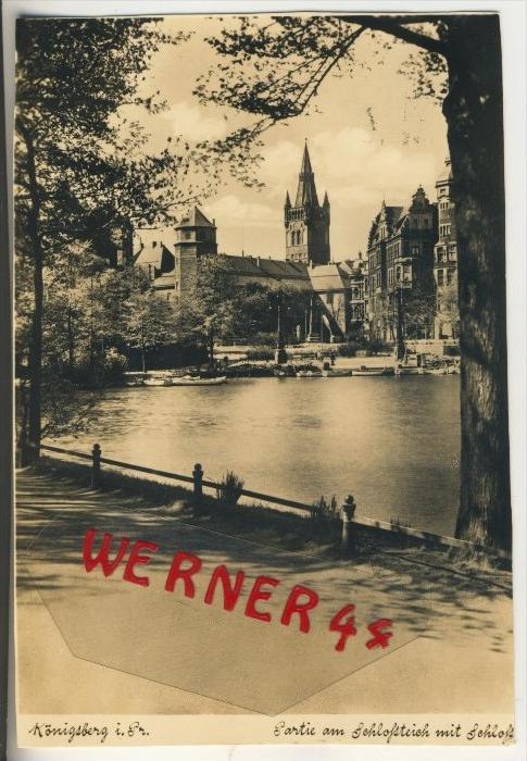 Königsberg v. 1937  Partie am Schloßteich (31568)