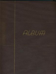 Postkarten-Album von 1940  für ca. 260 AK`s  (1)