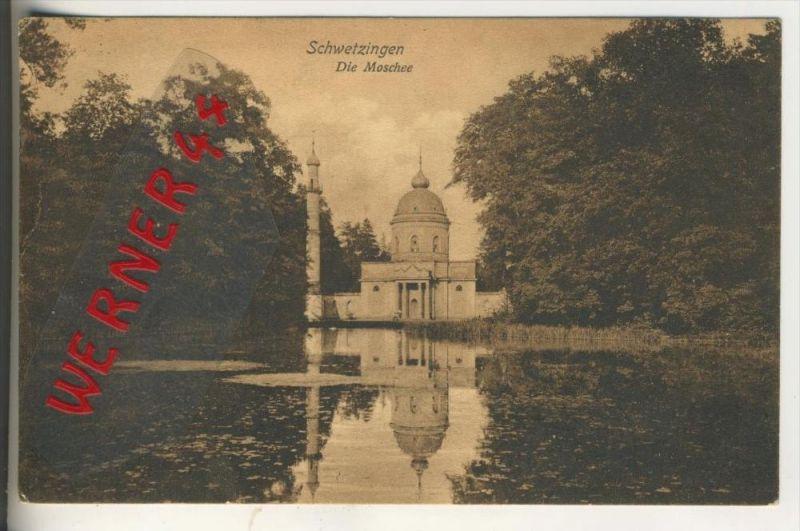Schwetzingen v. 1912  Die Moschee   (31676)