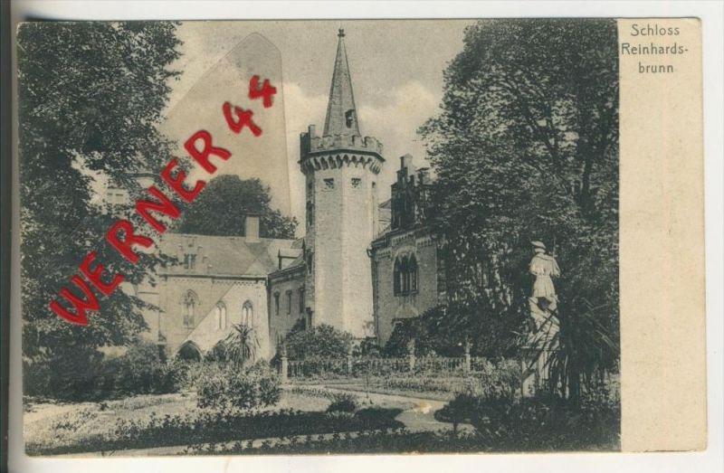 Schloss Reinhardsbrunn v. 1906   (31677A)
