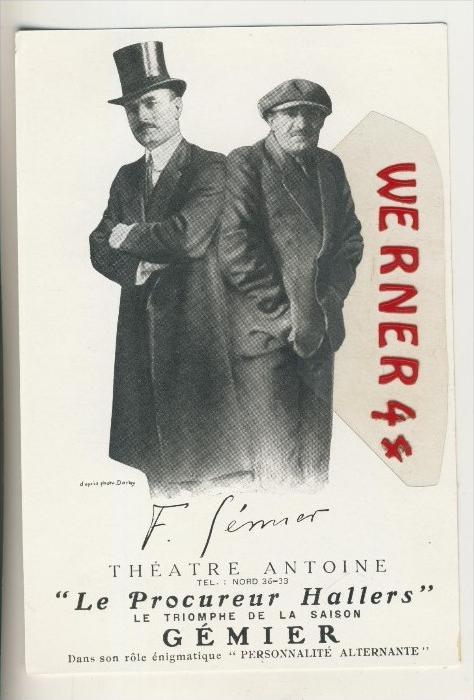 Paris v. 1926 Theatre Antoine ---