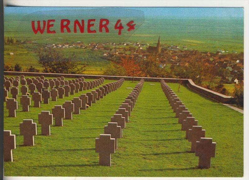 Bergheim / Frankreich v. 1978  Deutscher Soldatenfriedhof   (31923)