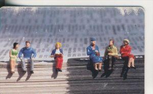 Telfonkarte chip 50 DM T Junge Kunst auf Telefonkarten  (1)