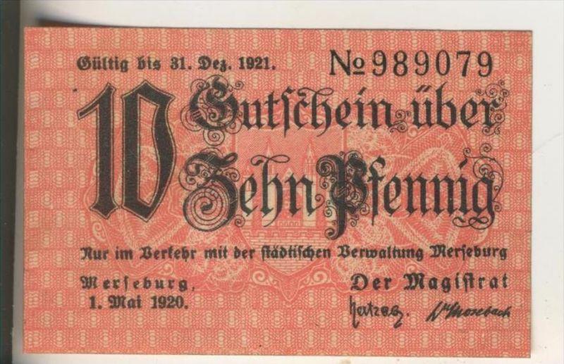 Merseburg v. 1921  10 Pfennig  ( GUTSCHEIN )  (016)