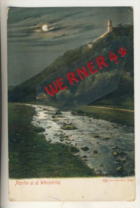 Partie an der Weistritz v. 1906   (33513)