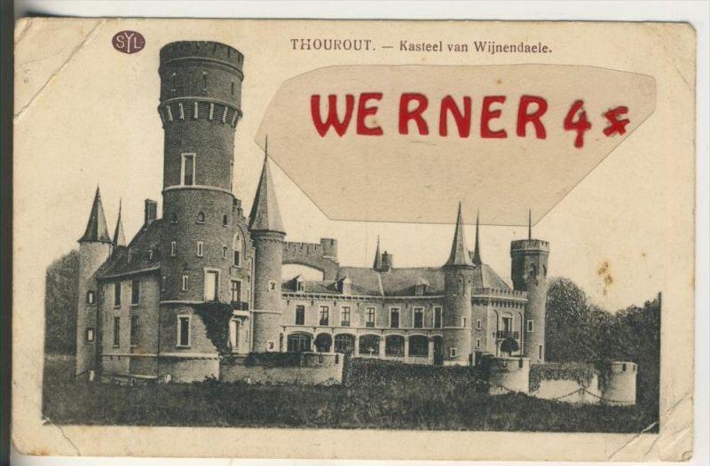 Thourout v. 1915  Kasteel van Wijnendaele  (33629)