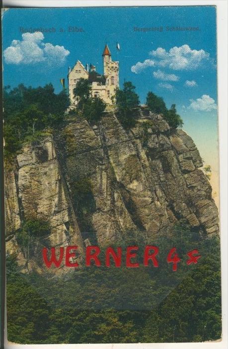 Bodenbach a. Elbe v. 1915  Bergschloß Schäferwand   (33761)