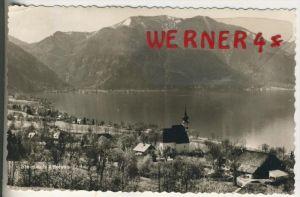 Steinbach / Attersee v. 1964  Teil-Dorf-Ansicht  (33896)