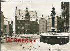 Marburg v. 1966  Marktplatz im Winter  (36792)