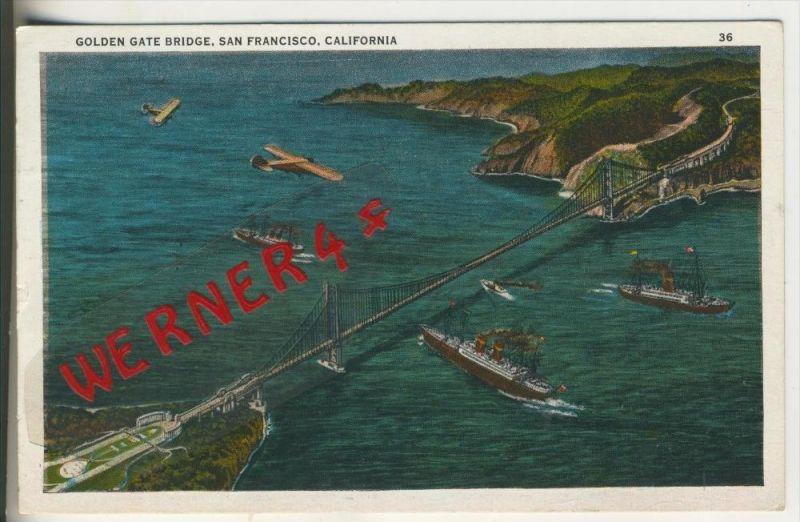 San Francisco v. 1933  Golden Gate Bridge  (37569)