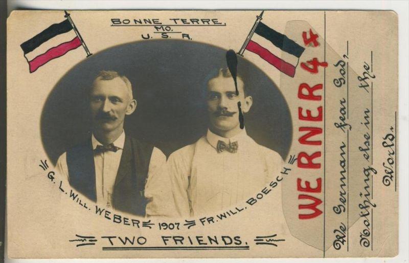 New Jersey v. 1907  Bonne - Terre, Will. Weber & Will. Boesch -- Two Friends (37593)