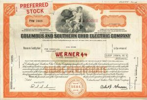 Columbus and Southern Ohio Electric Company von 1977 (40530)