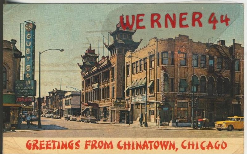 Chicago v. 1960  Greetings from Chinatown   ( 38353)